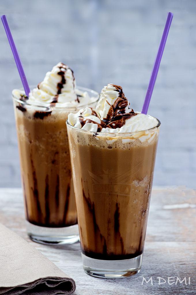 Café frappé o frappuccino